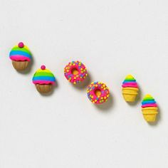 Sweets for the Sweet Studs Set | Claire's