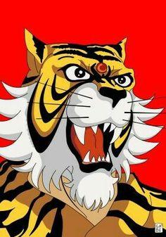 Le migliori immagini su l uomo tigre cartoon del tiger