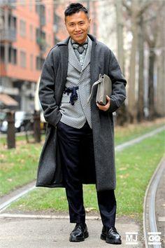 Street Style Milano Fashion Week 2014 by Monsieur Jerome - GQItalia.it