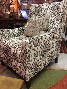 BE BRAVE U0026 HAD A PATTERNED CHAIR TO YOUR INTERIOR @ RAIL CREEK FURNITURE Co