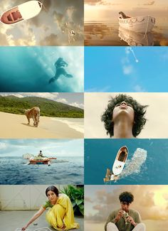 Life Of Pi - the composition / photography direction inn this film is some of the absolute best. Life Of Pi, The Life, Ang Lee, Movie Screenshots, Light Film, Beautiful Film, Film Studies, Christian Movies, Film Inspiration