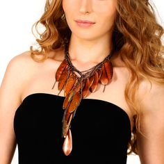 Fallen Leaves Necklace | Mary Josephine Jewelry | Fab.com