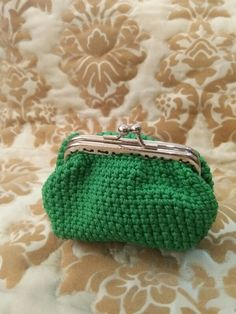 Green Chlorofil Coin Purse
