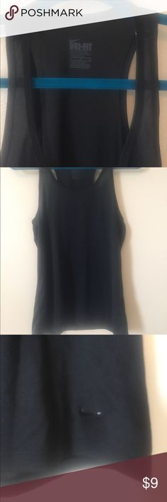 Nike Dri Fit Tank Sz Medium Black Perfect Nike tank! Plain black, size medium, Dri-Fit. Bundle for a discount! 🌟 Nike Tops Tank Tops