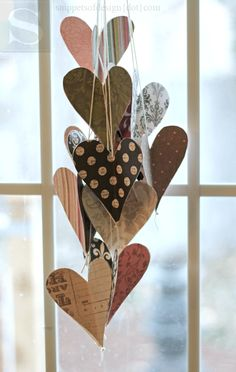 The Crafty Blog Stalker: 25 Paper Heart Project Tutorials