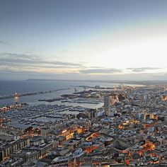 Panorámica de la ciudad de #Alicante #CostaBlanca