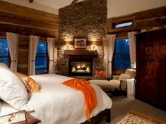 50+ Incredible Cozy And Romantic Bedroom Fireplaces For Your Home