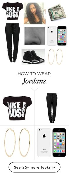"""""""Untitled #457"""" by diamondfoster919 on Polyvore featuring T By Alexander Wang, River Island, WearAll and NIKE"""