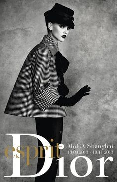 Dior exhibit at the Museum of Contemporary Art, Shanghai  |  via Vogue Paris