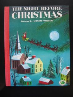 The Night Before Christmas by Moore Clement C