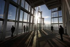 Good morning Tumblr and happy Friday! Weve just got these stunning pictures in of the Shards public viewing room - theres a gallery of images of London at dawn and dusk from western Europes tallest building (via The Shards room with a view - in pictures | UK news | guardian.co.uk)