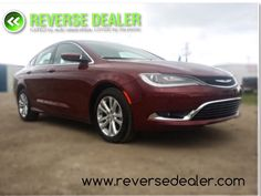 2015 Chrysler 200 Limited  This beauty was just recently won in a contest, it's brand new!  Heated seats, heated steering wheel, backup camera, Bluetooth, steering mounted audio controls and much more. This beautiful car is brand new and rides like a dream.  $21,900 www.reversedealer.com Chrysler 200, Backup Camera, Used Cars, Bluetooth, Audio, Vehicles, Beauty, Beautiful, Security Camera