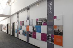69 Ideas History Timeline Design Spaces For 2019 Museum Exhibition Design, Exhibition Display, Exhibition Space, Design Museum, Exhibition Ideas, Corporate Office Design, Corporate Interiors, Office Interiors, Environmental Graphics