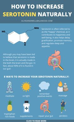 Learn how to increase serotonin levels naturally! In this article we concisely cover the 8 best ways to increase serotonin levels naturally, so you can hopefully boost your mood and improve your overall feeling of well-being. Boost Seratonin, Increase Serotonin, Serotonin Levels, Serotonin Foods, Increase Dopamine Naturally, Natural Remedies For Insomnia, Cold Home Remedies, Natural Health Remedies, Natural Cures