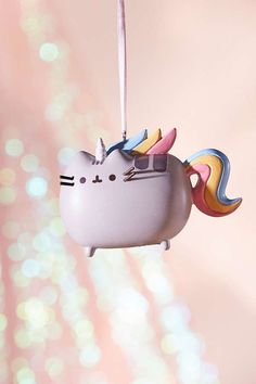 Shop Pusheen Unicorn Christmas Ornament at Urban Outfitters today. We carry all the latest styles, colors and brands for you to choose from right here. Pusheen Christmas, Christmas Cats, Christmas Holidays, Unicorn Christmas Ornament, Unicorn Ornaments, Christmas Ornaments, Pusheen Unicorn, Unicorn Cat, Picture Frame Ornaments