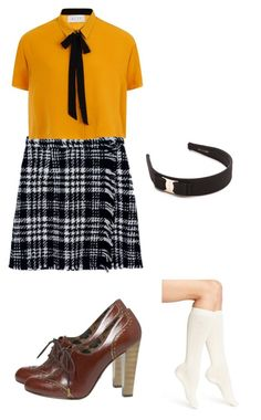 """Untitled #47"" by arimom ❤ liked on Polyvore featuring Dolce&Gabbana, Elvi, Calvin Klein and Salvatore Ferragamo"