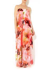 Pink Printed Maxi Dress #WallisFashion