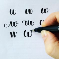 Letter W for Winterbird!  For @surelysimplechallenge's #SimpleAlphabets. Written with #Tombow #Fudenosuke Brush Pen @tombowusa. ❤️ Finally just a final reminder that the Giveaway ends tomorrow! ✍ So excited!  Have a fantastic day! ☀️✨❤️ @surelysimpleblog