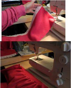 Free Fleece Fun Boutique Pants Pattern Step two