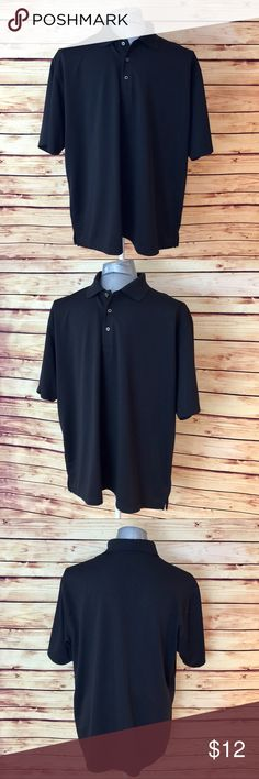 Bundle 6 for $25 • Men Black Golf Polo Shirt 🔹BUNDLE any 👉🏻 6 items for $25! 🔹Like 6 items 🔹Add the items to a bundle 🔹Make bundle offer for $25!  ▫️Brand: Grand Slam Golf ▫️Size: XXL ▫️Material: Polyester ▫️Condition: NWOT ▫️Flaws: None  ▪️NO Trade/Hold ▪️Next Day Shipping ▪️Smoke Free/Kitty Friendly Home Grand Slam Golf Shirts Polos