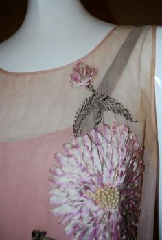 1000 Images About Ribbon Embroidery On Apparel On
