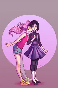 My favorite Sailor Moon ship probably. Pink Sugar ACTUAL DEATH.