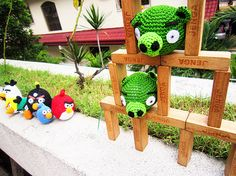 Angry Birds Crochet PATTERNS!