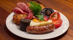 The most scrumptious way I know of to start our first day, is with a full English breakfast and a cup of Earl Grey.