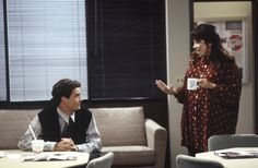 """FRIENDS -- """"The One Where Nana Dies Twice"""" Episode 8 -- Pictured: Matthew Perry as Chandler Bing, Nancy Cassaro as Shelly -- Get premium, high resolution news photos at Getty Images Friends Season 1, Friends Episodes, Group Of Friends, David Crane, Matthew Perry, Chandler Bing, Best Shows Ever, Daydream, The One"""