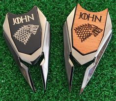 Game of Thrones Personalized Golf Ball Marker and Divot repair Tool Valentines Best Man Groomsmen Boyfriend Son Husband golf Game Of Thrones Gifts, Game Of Thrones Fans, Cool Tools, Monogram Letters, Golf Ball, Groomsmen, Fathers Day, Markers, Initials