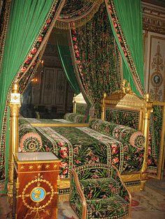 Betten, Palast Interior, Puppenstuben Ideen, Einzigartiges Wohndesign,  Frankreich, Innenarchitektur, Schlafzimmer