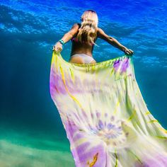 "Handmade Tie Dye Beach Towel. Use code ""pinterest"" for 40% off, good till the end of the  31st 2015."