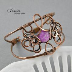 Baroque - bransoletka z czaroitem