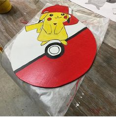 Pokémon Pikachu Chalkboard