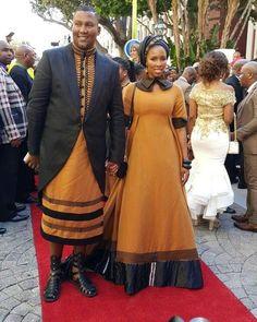 African beautiful Xhosa couple the Mandela family Xhosa Attire, African Attire, African Wear, African Women, African Dress, African Inspired Fashion, African Print Fashion, African Fashion Dresses, Ankara Fashion