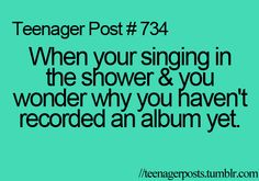 """every single day.....who says this is a teenager post haha... And I'm still cringing at the incorrect """"your"""""""