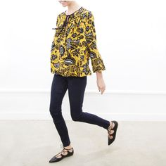 Jump into fall with us by heading over to our New Arrivals page to shop the Diaz Top ($825.00) and more!