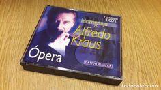HOMENAJE A ALFREDO KRAUS / ÓPERA / DOBLE CD- LA VANGUARDIA / CALIDAD LUJO.