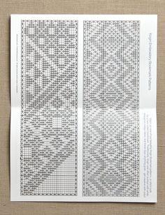 Japanese Kogin Embroidery Bookmark Kit