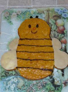 Cette abeille n'est pas une courge ! Foodista Challenge Food Names, Cravings, Challenge, Healthy Recipes, Cookies, Orange, Dinner, Desserts, Bee Cakes