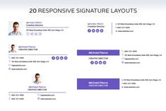 Email Signatures by Brandify Studio on Company Email Signature, Professional Email Signature, Html Email Signature, Email Signature Templates, Email Templates, Outlook Email Signature, Signature Ideas, Signature Design, Signature Mail