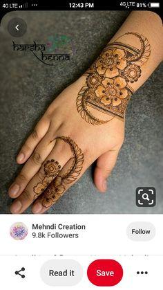 New Henna Designs, Rose Mehndi Designs, Back Hand Mehndi Designs, Mehndi Desing, Legs Mehndi Design, Arabic Henna Designs, Mehndi Designs For Girls, Modern Mehndi Designs, Mehndi Designs For Fingers