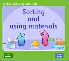 BBC - Schools Science Clips - Sorting and Using Materials, My Favorite, Primary Science, Third Grade Science, Science Topics, Science Worksheets, Kindergarten Science, Science Resources, Science Classroom, Teaching Science, Science Education