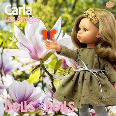 """""""i'm smiling for me now"""" 🌷 Carla 🌷#paolareina #paolareinadolls #paolita #carla #spring #primavera"""