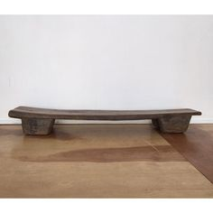 Antique Hand Carved African Wood Bench