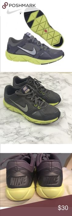 Nike Free XT Quick Fit Flywire Training Shoes Nike Free XT Grey Neon Green Quick Fit Flywire Womens Training Shoe SZ 7.5  * 1st picture is stock photo  *Comes from a smoke and pet free home Nike Shoes Sneakers