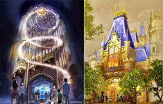 Castle design for Shanghai Disneyland revealed: the Beast's castle!