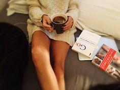 ✨ Dominguemos. Amém  #EasyLikeSunday #home #tea #peace #books  #CabelosLindos