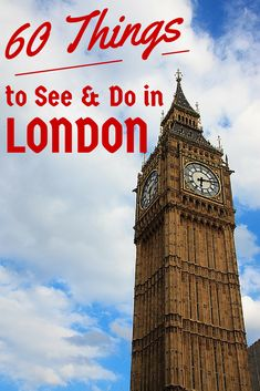 60 Things to See & Do in London - The Trusted Traveller