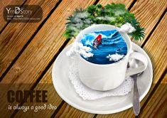 Photoshop Artwork #09 - Coffee :: Ym.d_story